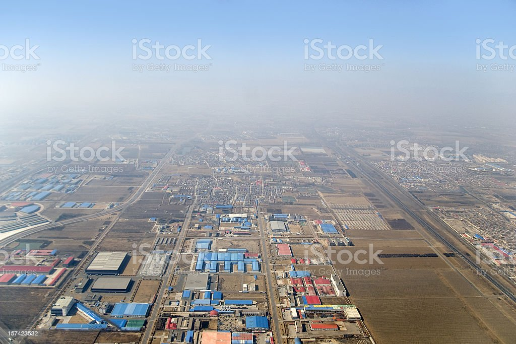 Chinese industry royalty-free stock photo