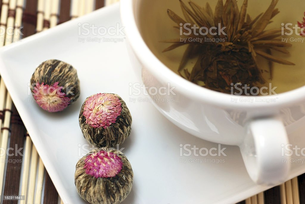 Chinese jasmine tea royalty-free stock photo