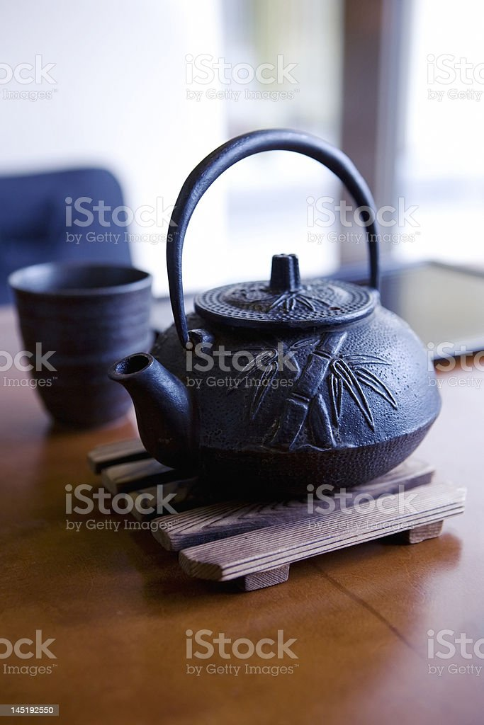 Chinese   kettle royalty-free stock photo
