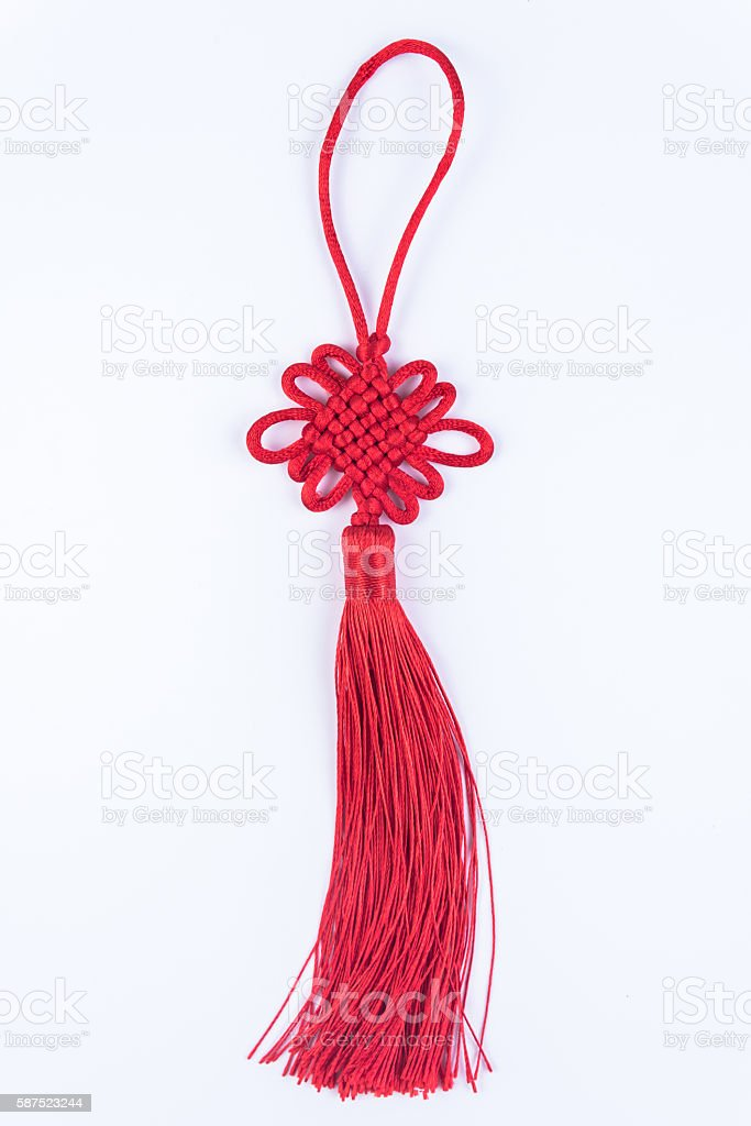 Chinese knot stock photo