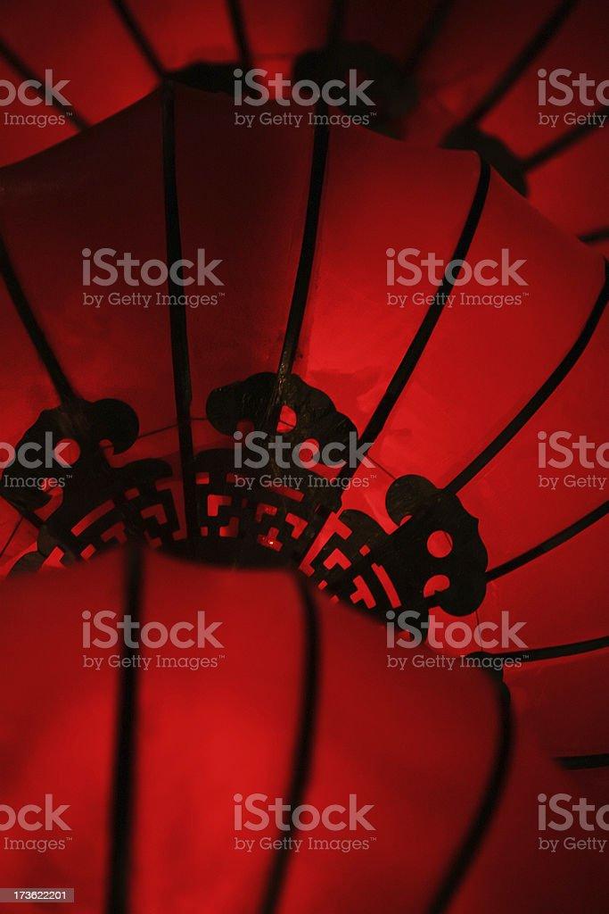 Chinese lantern detail royalty-free stock photo