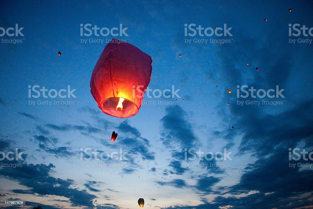 Chinese lantern. stock photo