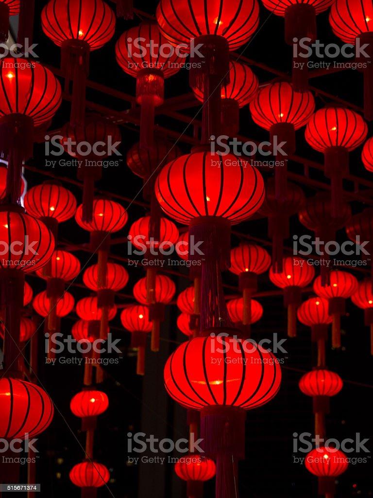 Chinese Lanterns, Chinese New Year. stock photo