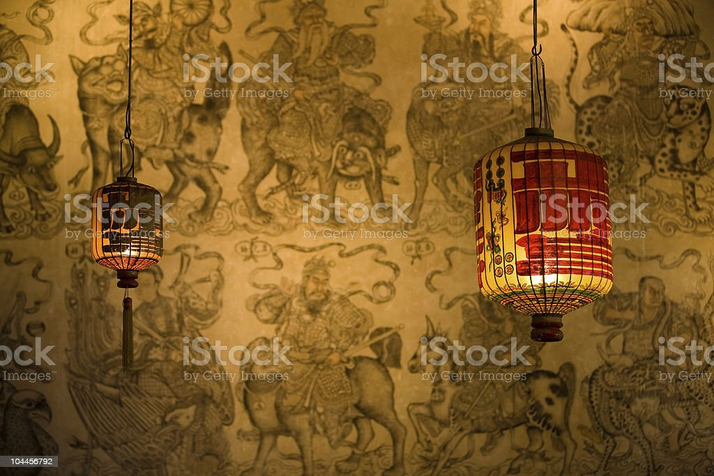 Chinese lanterns royalty-free stock photo