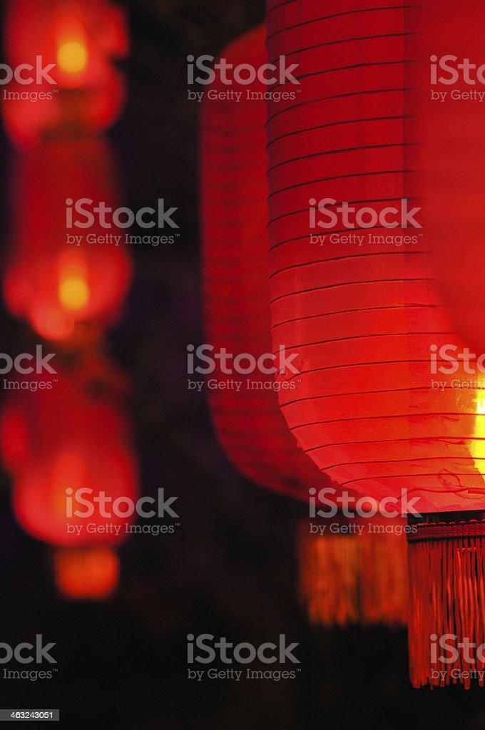 Chinese Lanterns stock photo