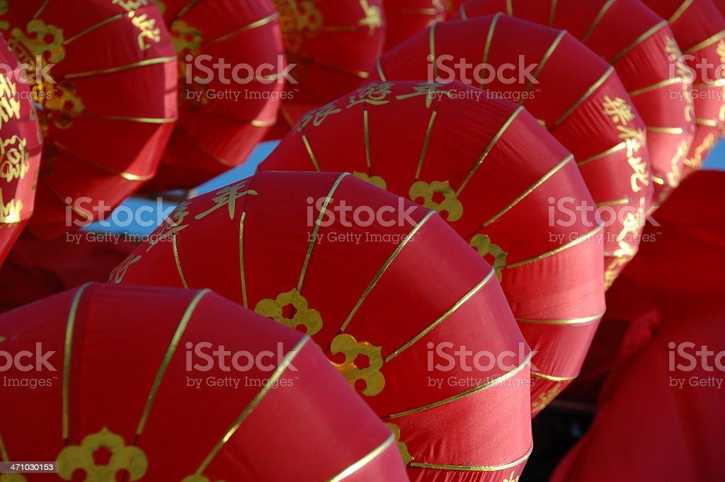 Chinese Lanterns royalty-free stock photo