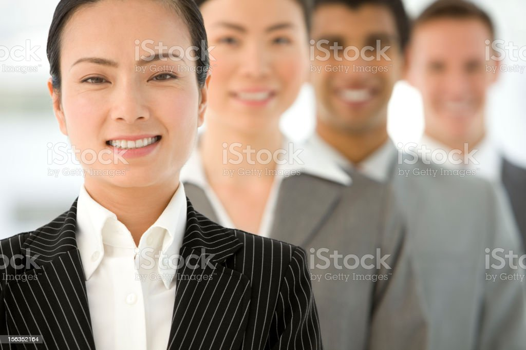 Chinese Leadership stock photo
