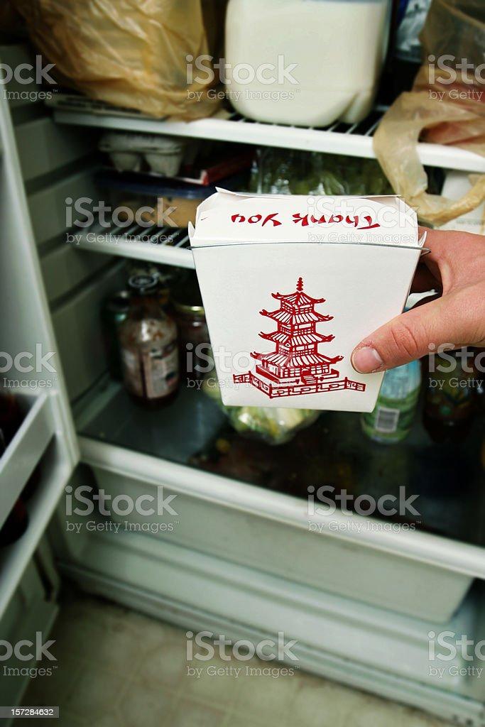 Chinese Leftovers stock photo