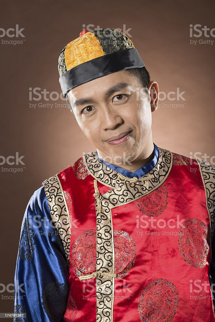 Chinese man royalty-free stock photo