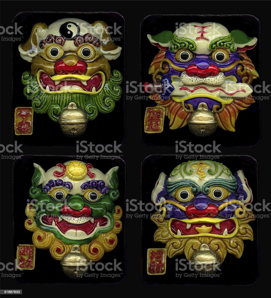 Máscara de China foto de stock libre de derechos