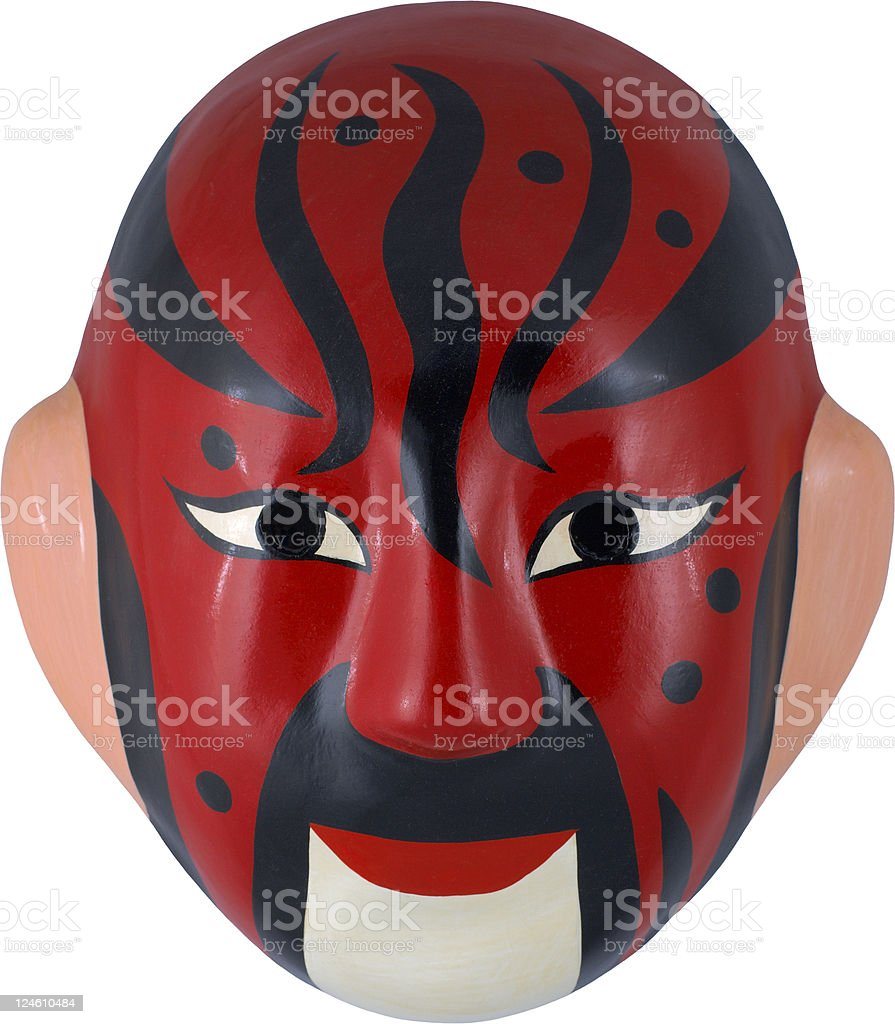 chinese mask series royalty-free stock photo