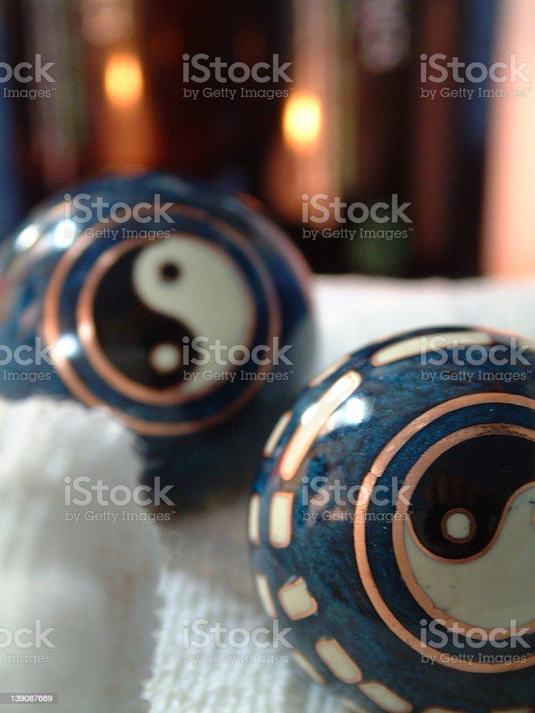 Chinese Medicine Balls royalty-free stock photo
