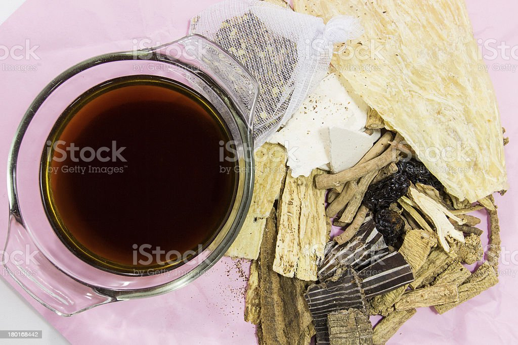 Chinese medicine royalty-free stock photo