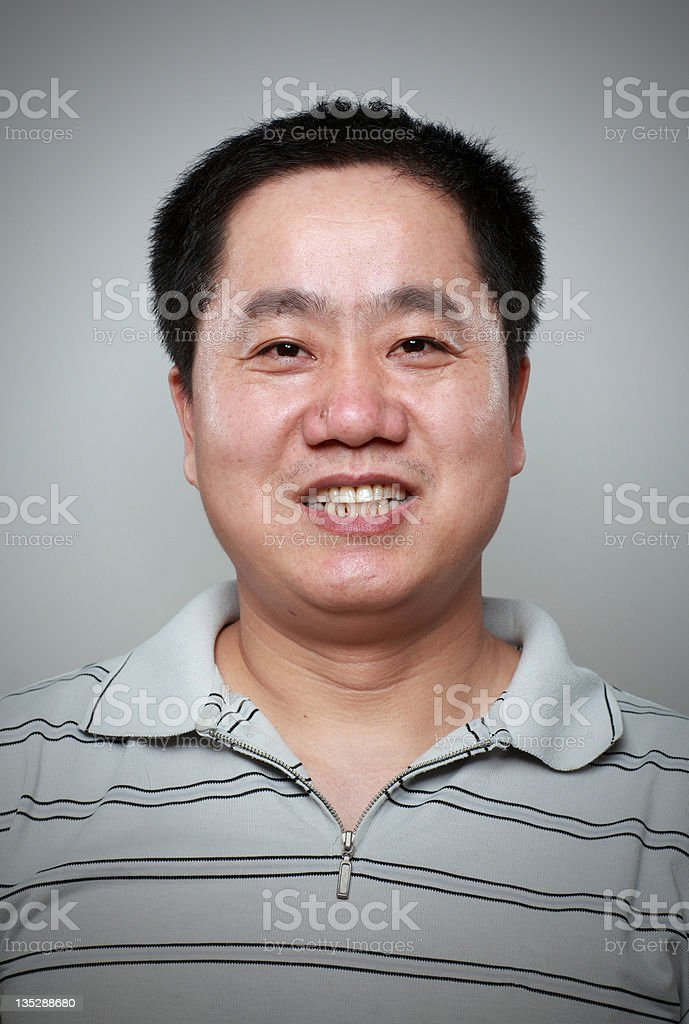 Chinese men royalty-free stock photo