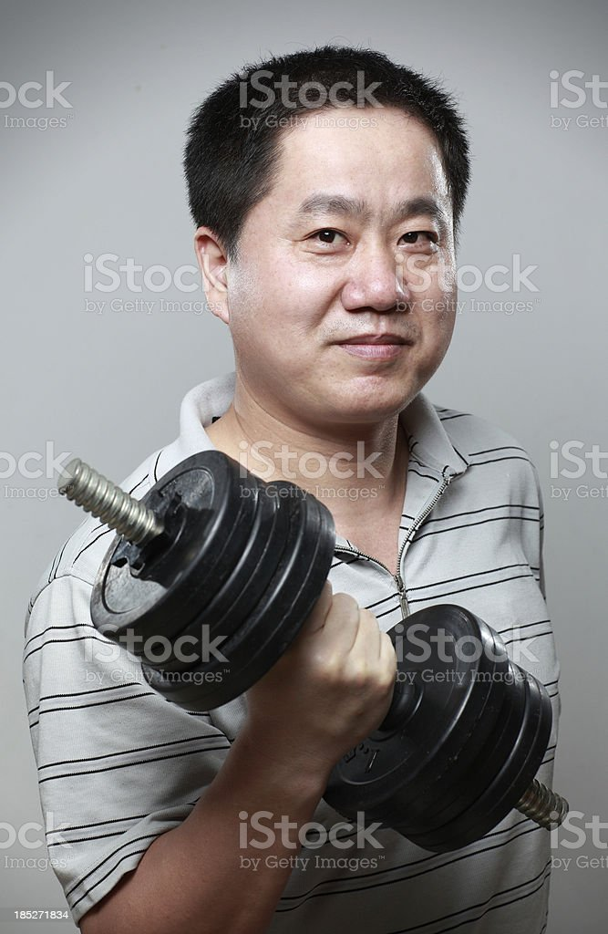 Chinese men royalty-free stock photo