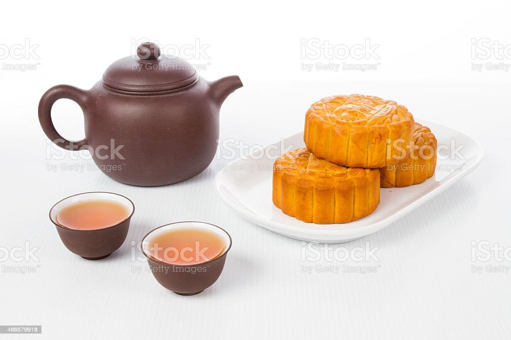 Chinese Mid-autumn Festival stock photo