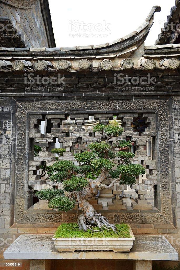 Chinese miniascape stock photo