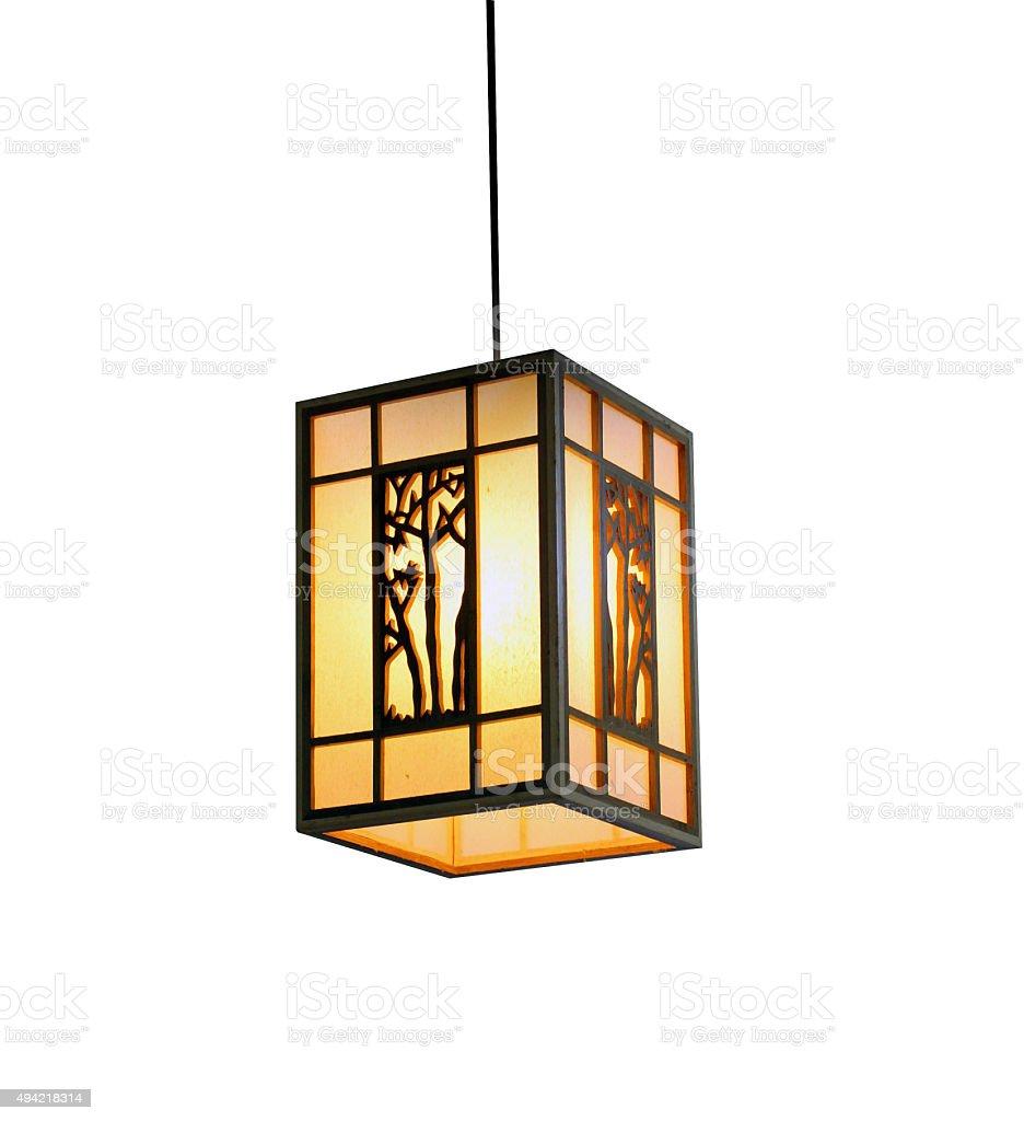 Chinese modern lamp. stock photo