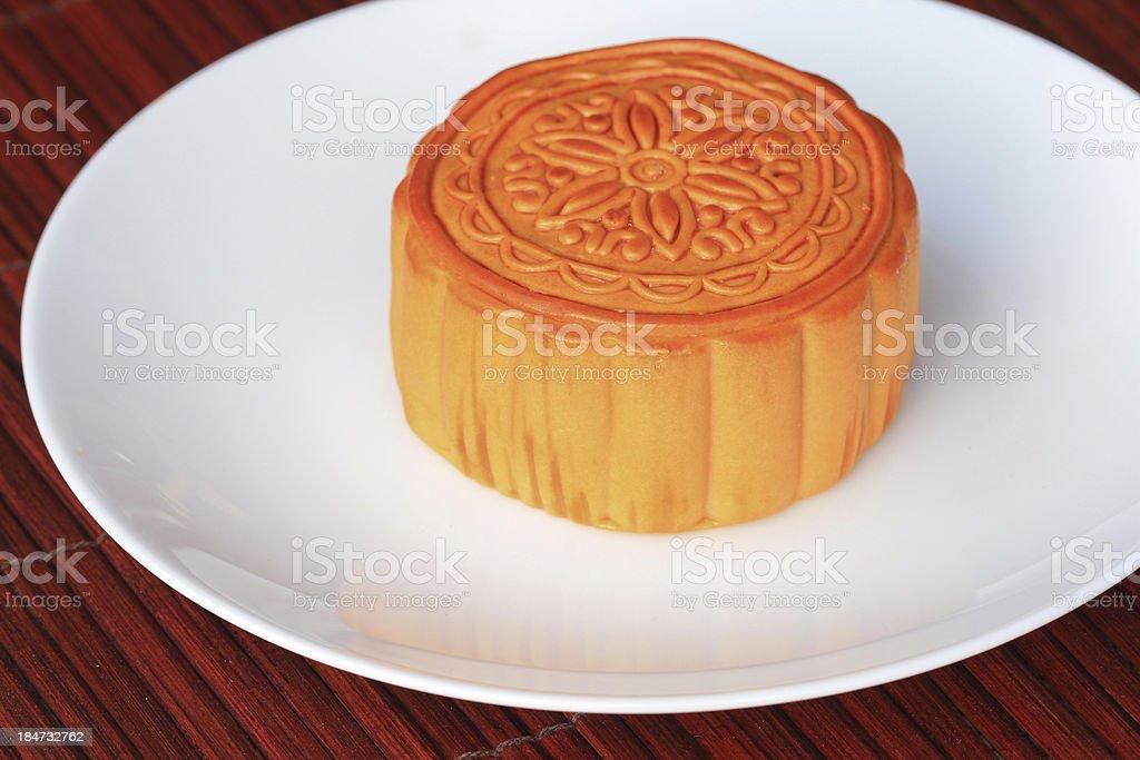 Chinese Moon cake royalty-free stock photo