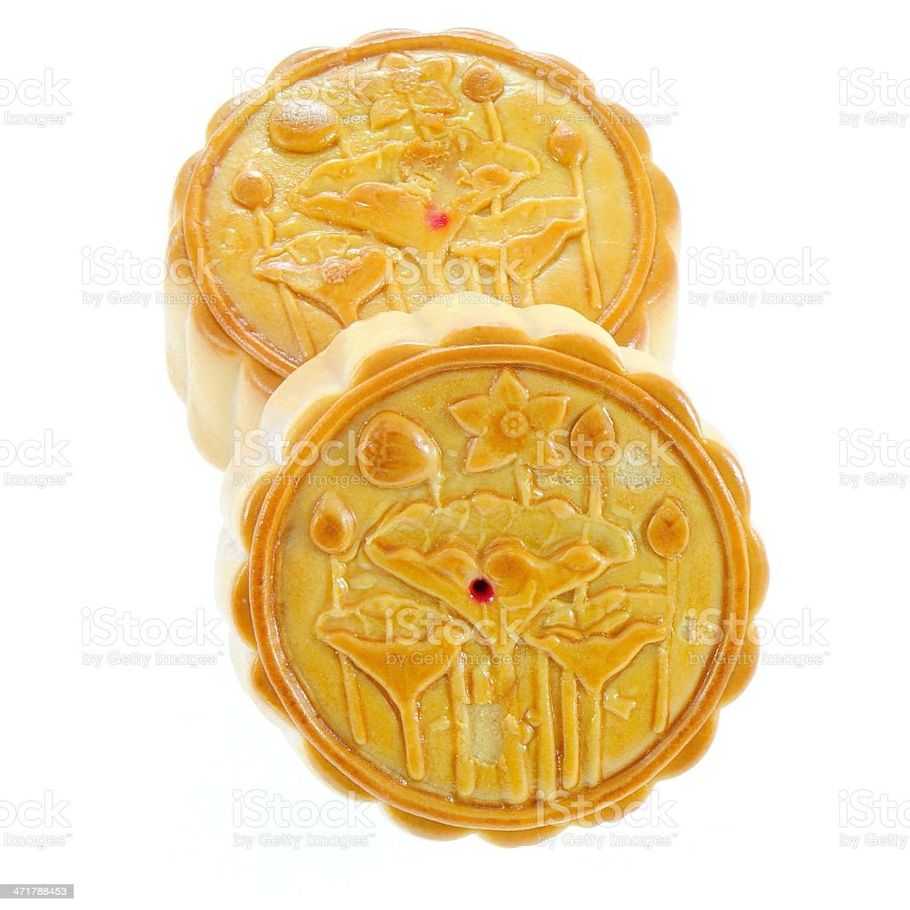 Chinese Moon cake royalty-free stock photo