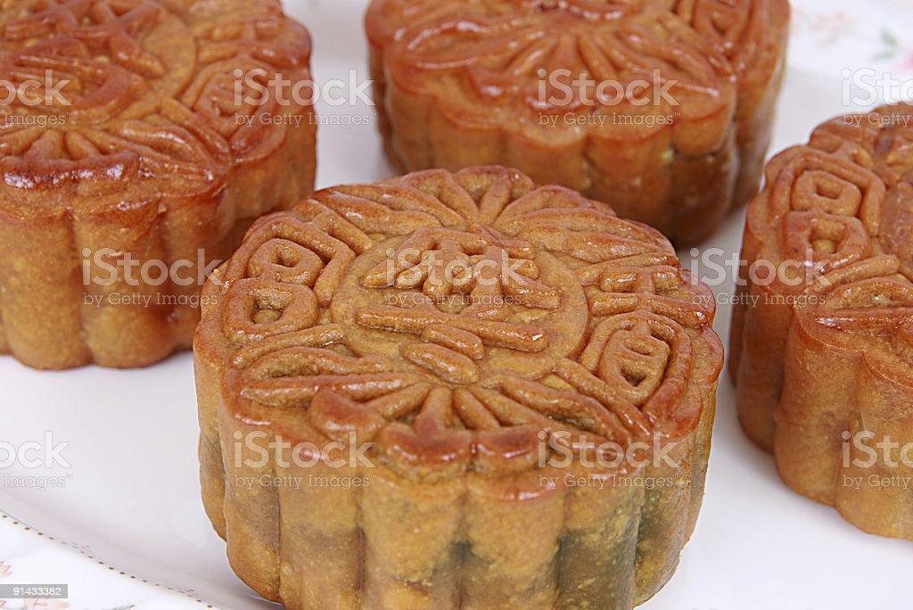 Chinese Mooncake royalty-free stock photo