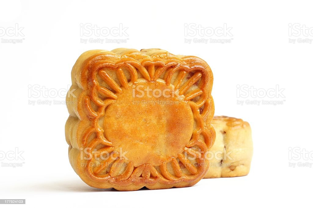 Chinese Mooncakes royalty-free stock photo