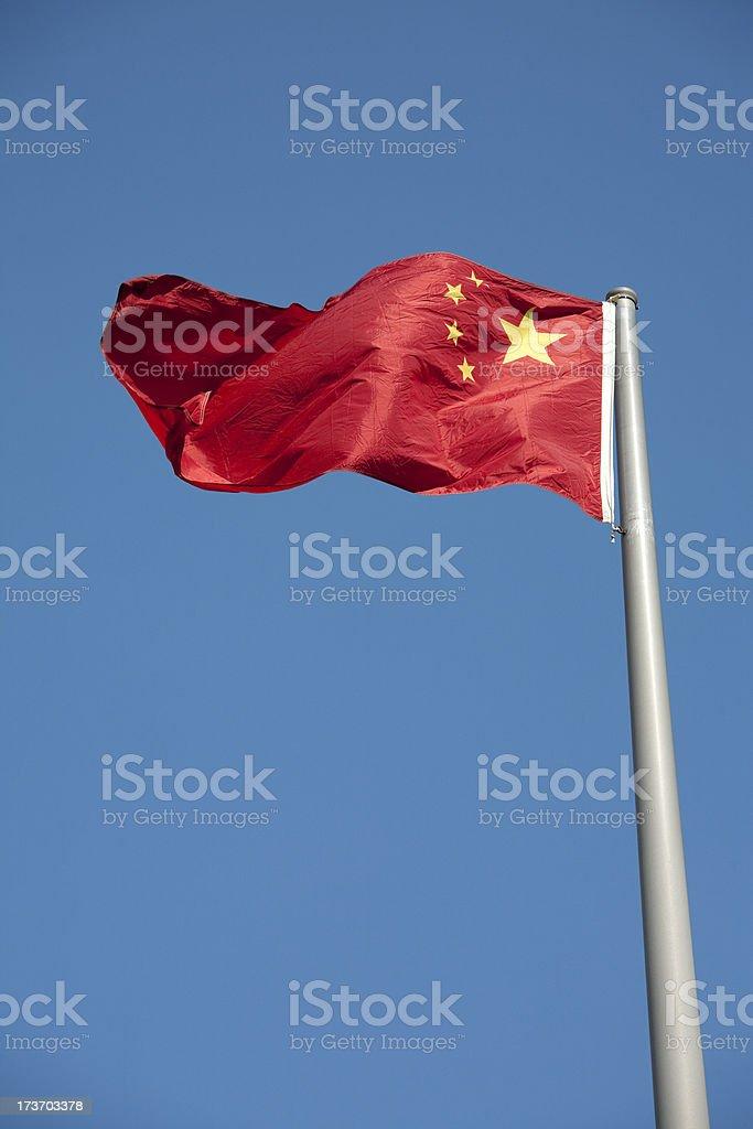 Chinese National Flag, China stock photo