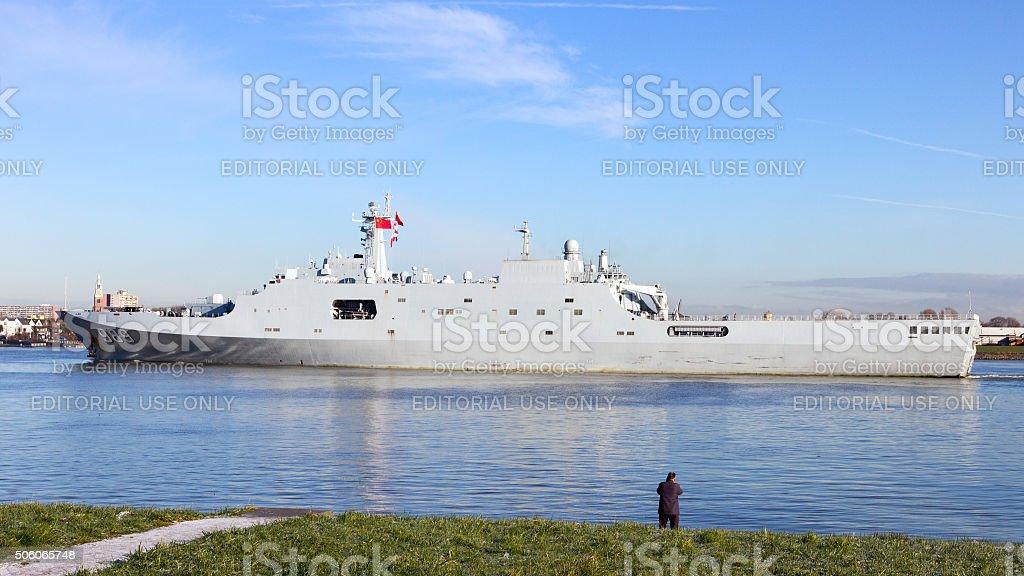 Chinese Navy stock photo