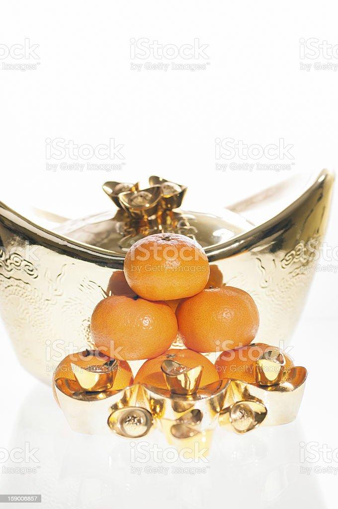 Chinese New Year Abundance Concept royalty-free stock photo