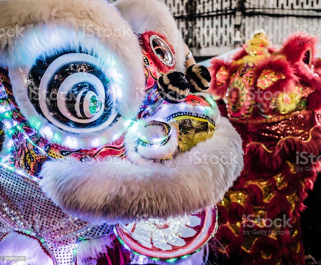 Chinese New Year Bangkok Thailand stock photo
