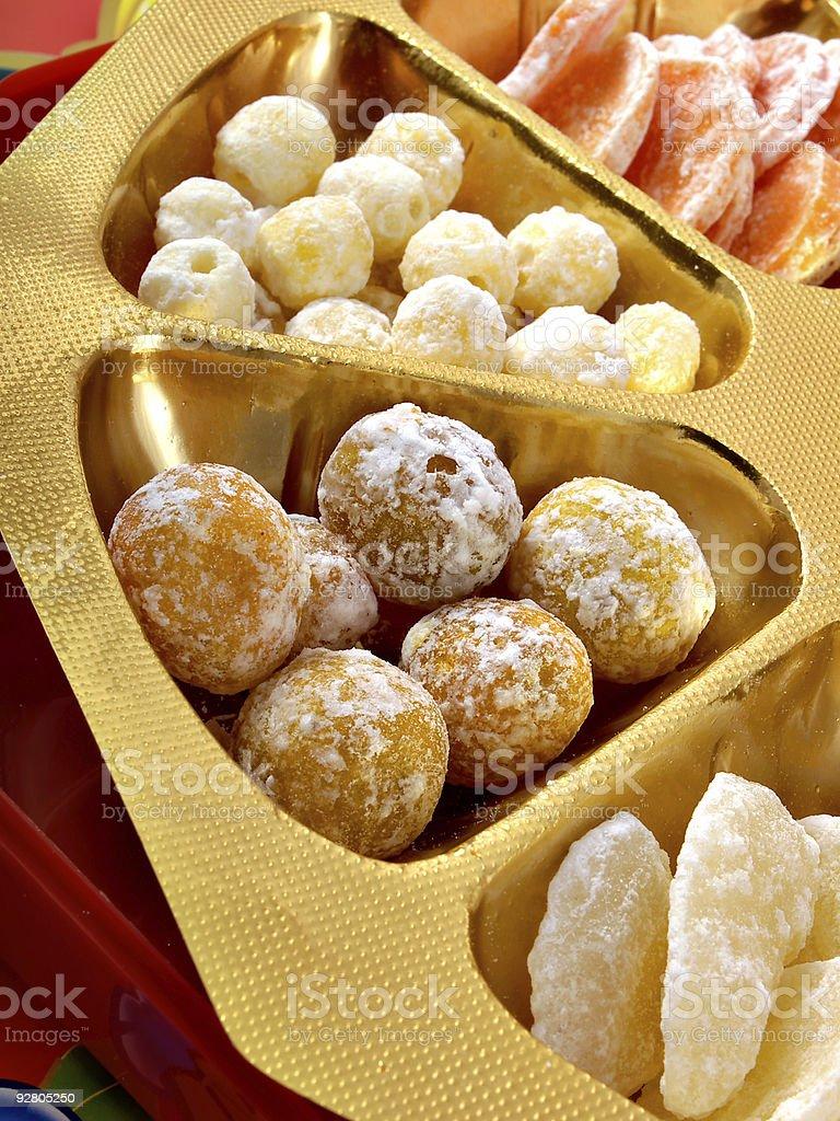 Chinese New Year Candies stock photo