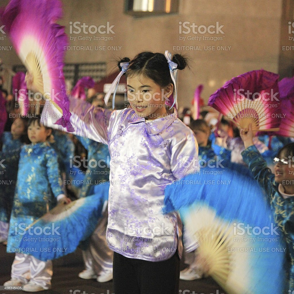 Chinese new year celebrations San Francisco stock photo