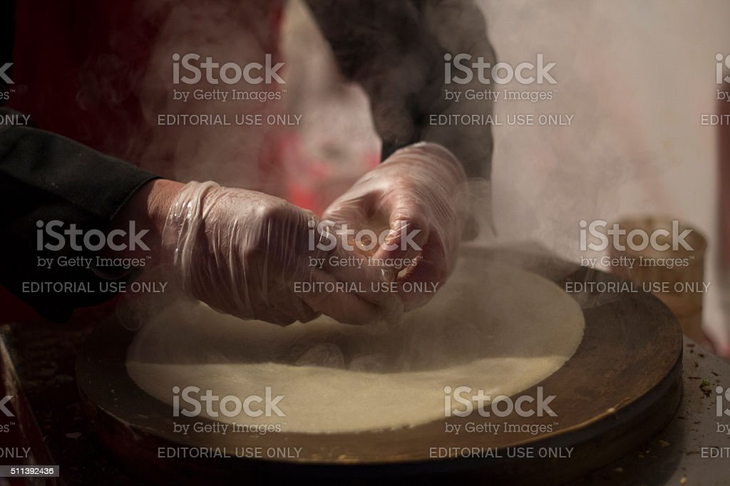 Chinese New Year in Madrid stock photo