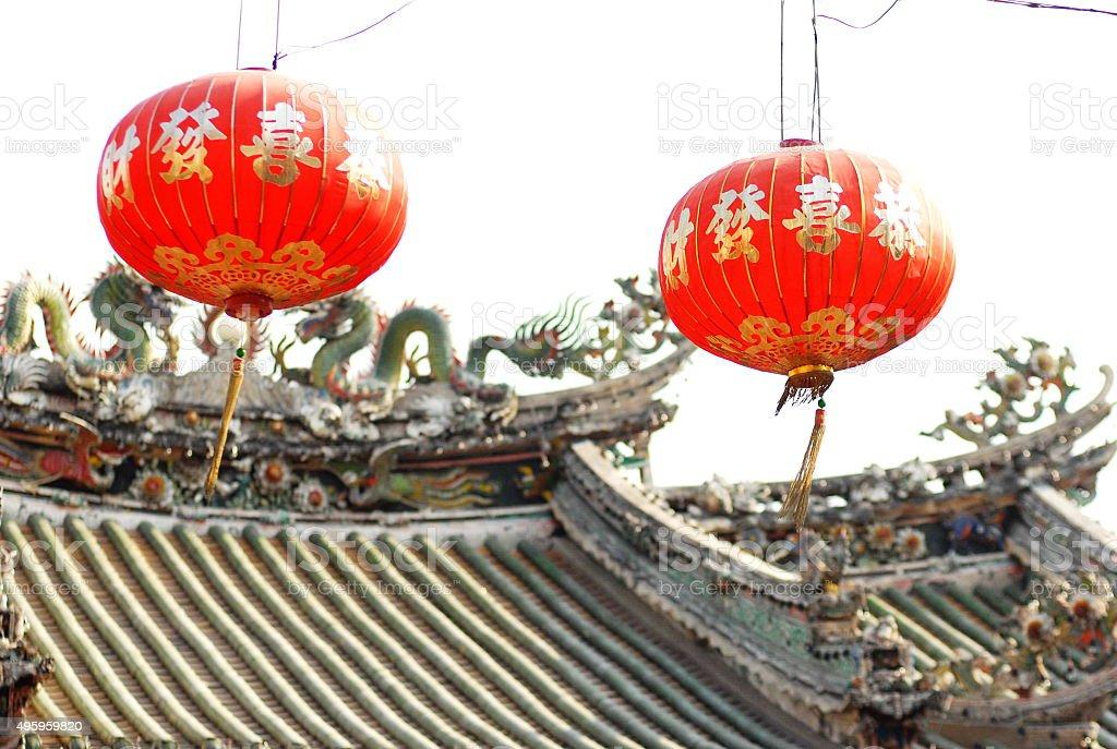 Chinese New year in Yaowarat, Bangkok stock photo