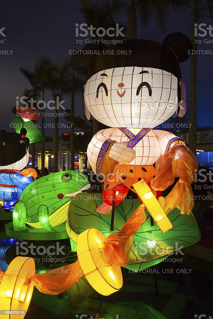 Chinese New Year Lantern Carnival 2013 stock photo