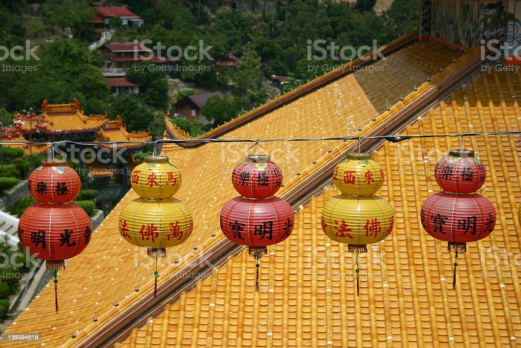 Chinese New Year Lanterns royalty-free stock photo