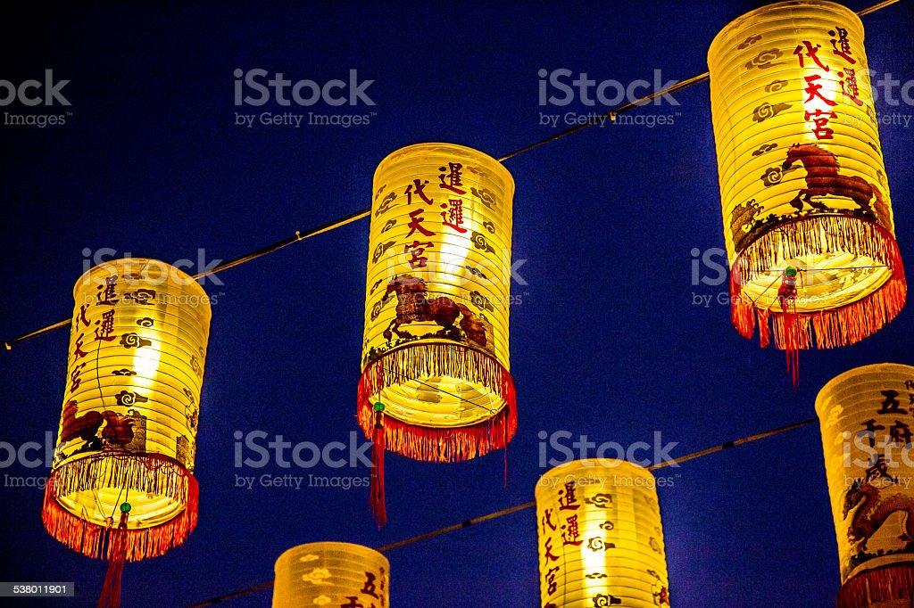 Chinese New Year, Lanterns stock photo