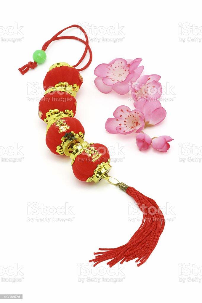 Chinese New Year Prosperity lanterns royalty-free stock photo