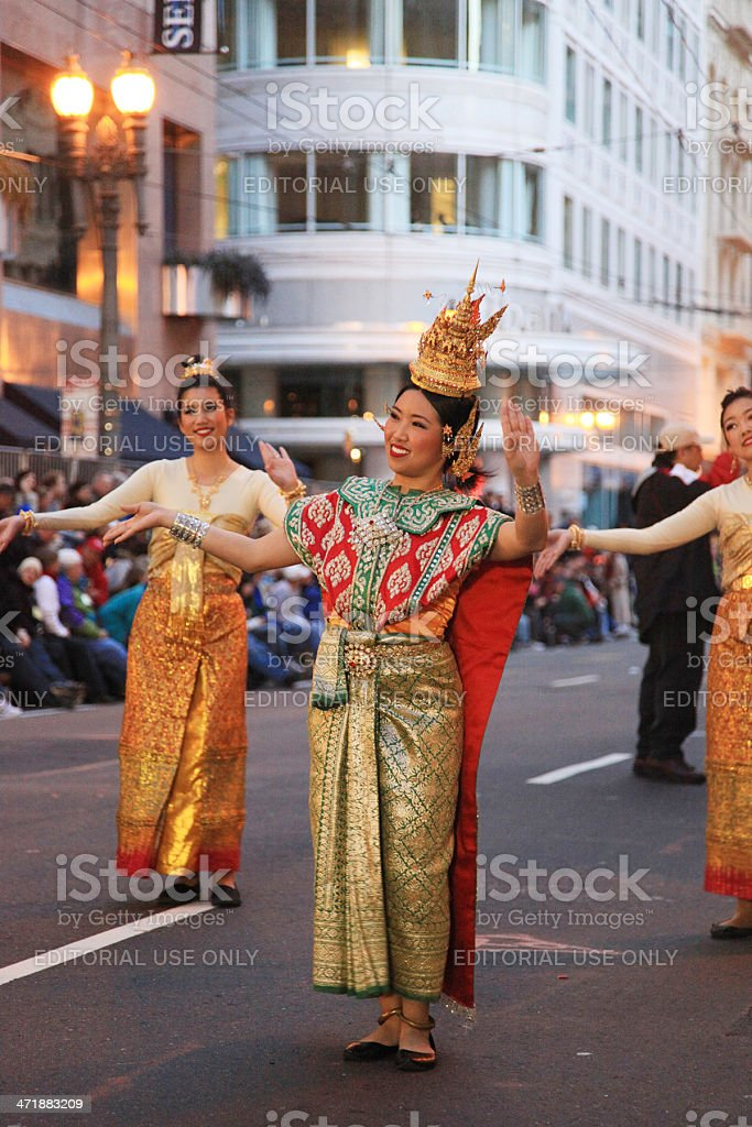 Chinese new year San Francisco stock photo