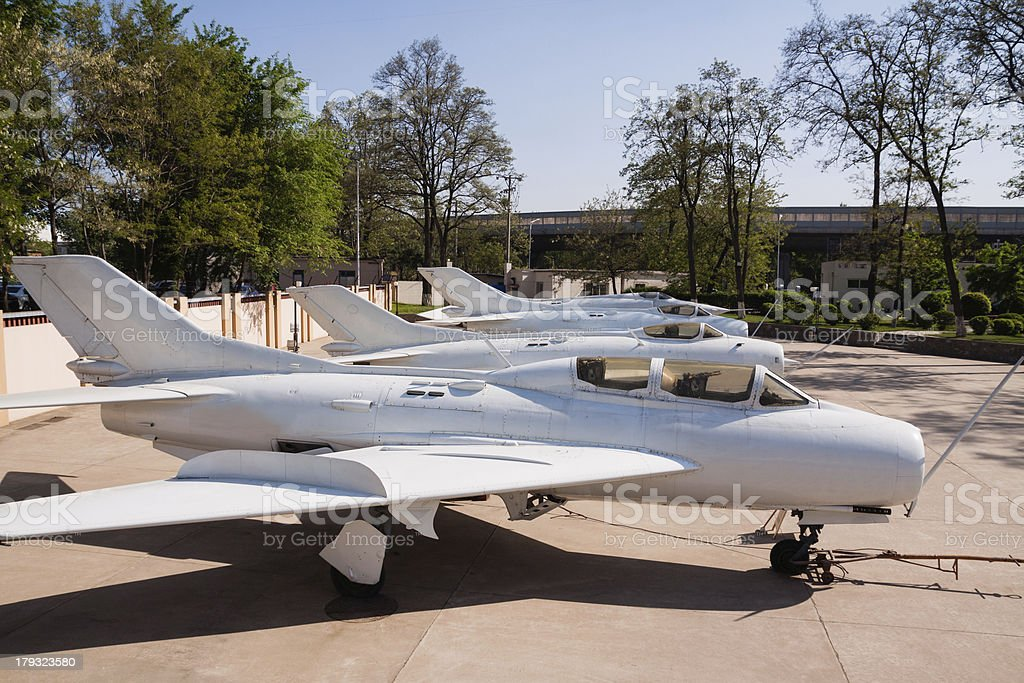 Chinese old fighters royalty-free stock photo