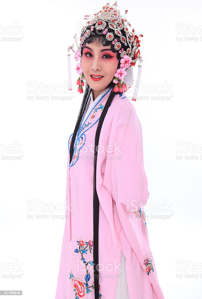 chinese opera actor royalty-free stock photo