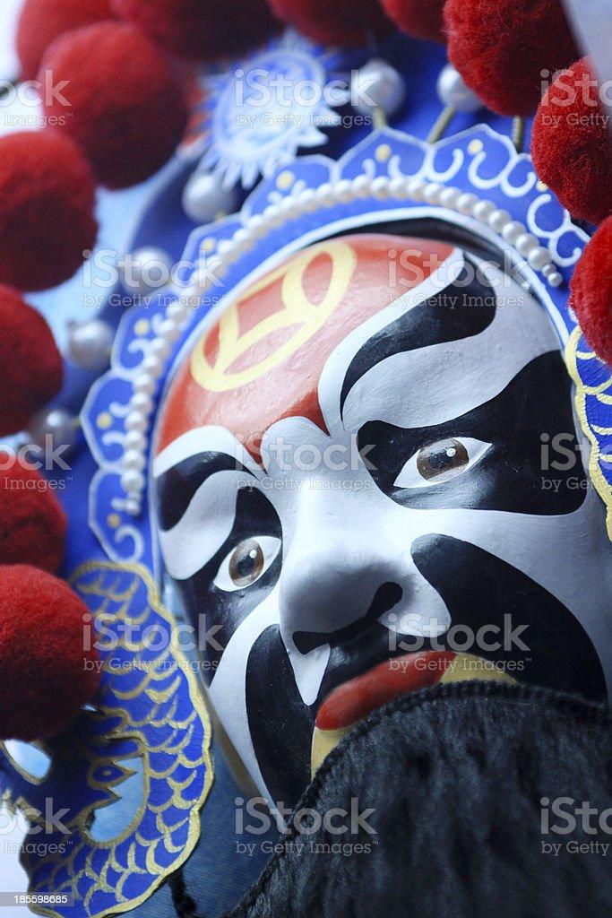chinese opera masks royalty-free stock photo