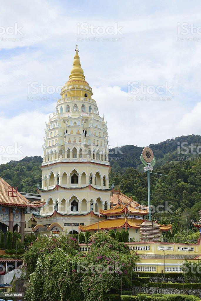 Chinese pagoda stock photo