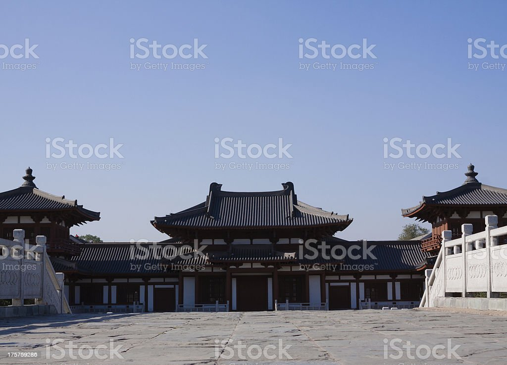 Chinese Palace Architecture royalty-free stock photo