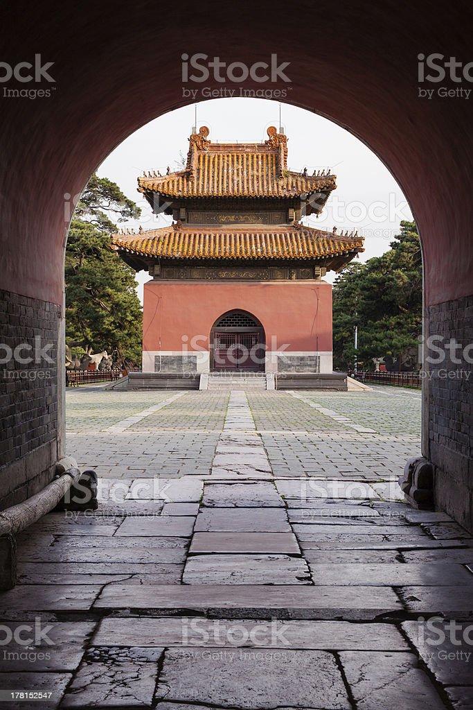 Chinese Palace Architecture stock photo