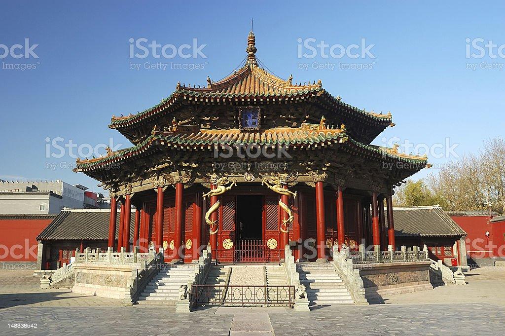 Chinese Palace stock photo