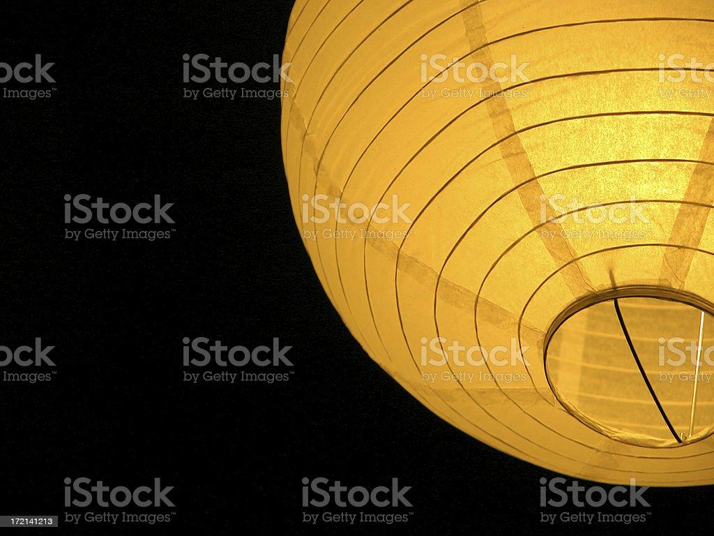 Chinese paper lantern royalty-free stock photo