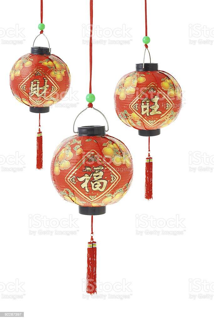 Chinese paper Lanterns royalty-free stock photo
