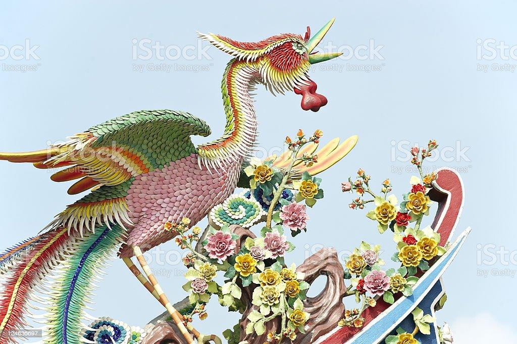 Chinese Phoenix royalty-free stock photo