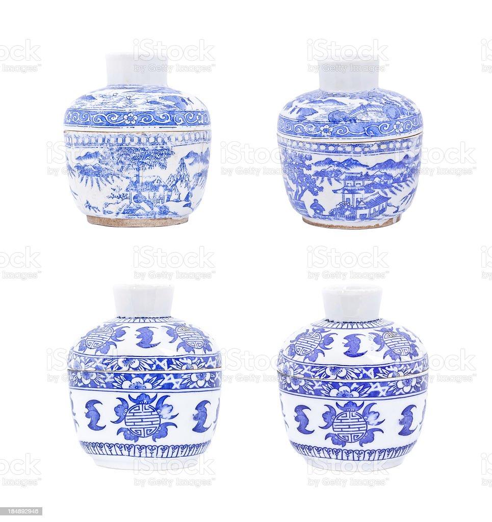 Chinese porcelain royalty-free stock photo